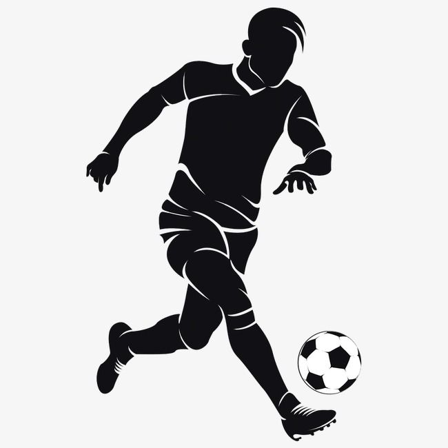 Character Clipart Soccer Silhouette Shooting Extraordinary Silhouette Soccer Player Soccer Vector Ball V In 2020 Soccer Silhouette Football Illustration Silhouette Png