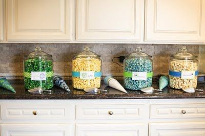"POPcorn Bar and the ""ready to pop"" baby shower"