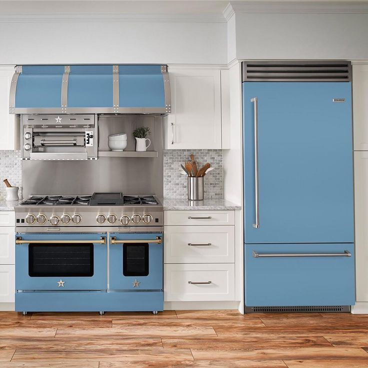BlueStar Appliances Will Make Your Colorful Kitchen Dreams ...
