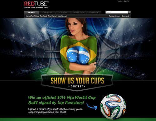 RedTube Wettbewerb: Offizieller Ball der WM 2014 zu gewinnen.