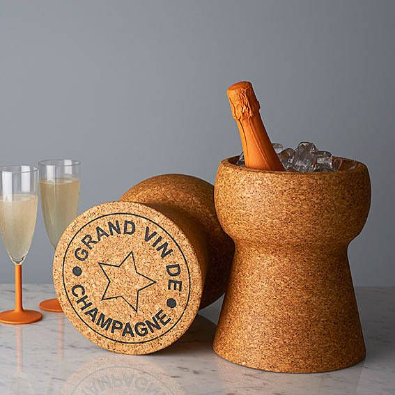 champagne cork cooler by impulse purchase   notonthehighstreet.com