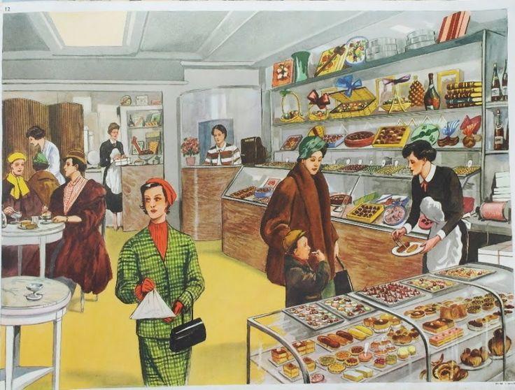 """Affiche """"La pâtisserie"""" (élocution Mdi)"""