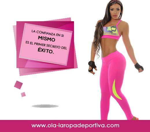 La confianza en sí mismo es el primer secreto del éxito.  http://www.ola-laropadeportiva.com/…/67-conjunto-deportivo-…  #Motivación #Confianza #Superación #Éxito #Colombia