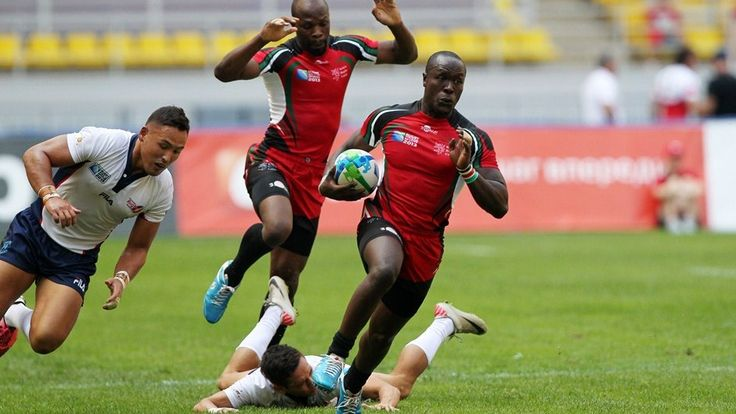 Japan 7 vs Kenya 7 Rugby Scores Live - World - Sevens World Series - South Africa