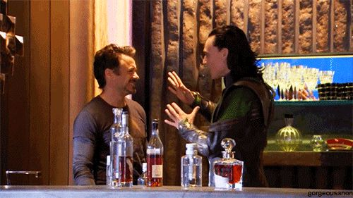 This gif makes no sense in my Marvel fangirl mind... lol