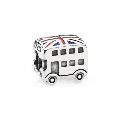 London Double Decker Bus Silver Charm - PANDORA