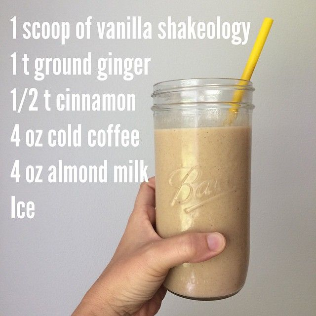 Gingerbread Latte Shakeology You are welcome http://www.MyShakeology.com/EricaBCalderon #BeachEricaBody
