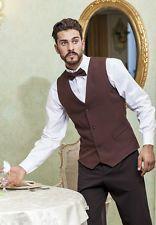 Gilet da lavoro Uomo divisa Cameriere Sala Bar Ristorante - Abiti da Lavoro