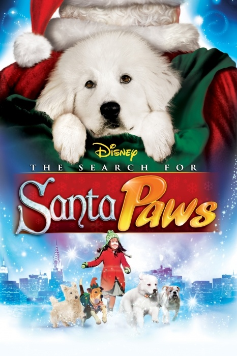 The Search for Santa Paws Poster Artwork - Madison Pettis, Bonnie Somerville, Wendi McLendon-Covey - http://www.movie-poster-artwork-finder.com/the-search-for-santa-paws-poster-artwork-madison-pettis-bonnie-somerville-wendi-mclendon-covey/