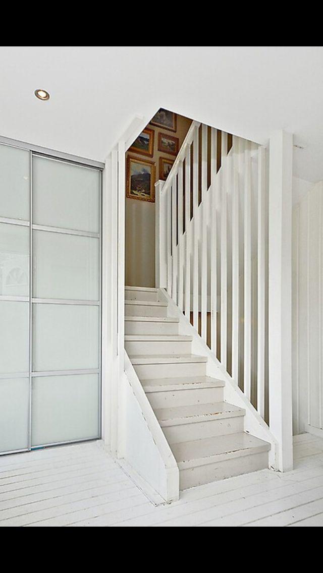 Trappa trappräcke öppet