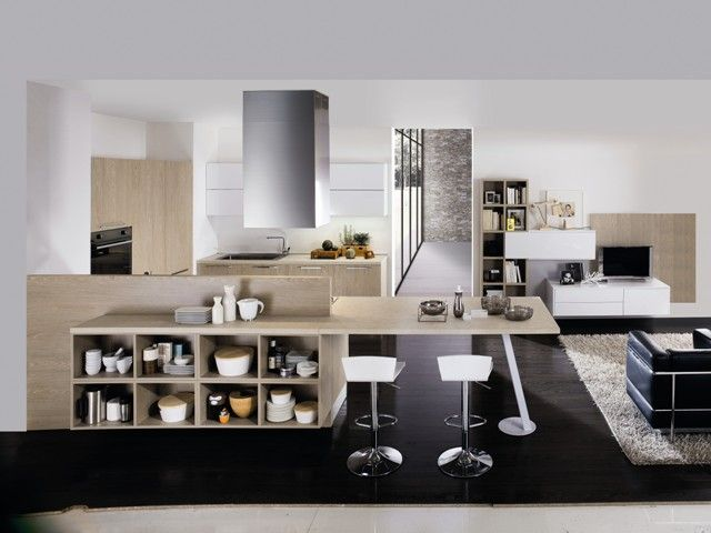 66 best Cucine living images on Pinterest | Kitchen modern, Modern ...