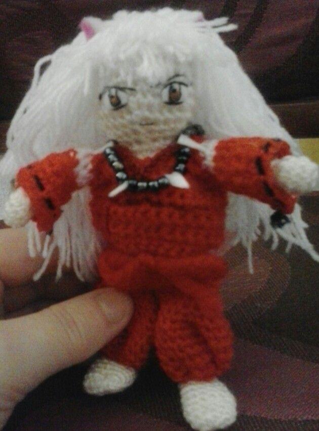 Designer Crochet Amigurumi Patterns Merida Warrior Princess : Inuyasha crochet Pinterest Inuyasha