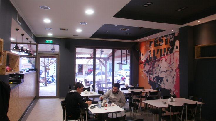 fast food στο Χιλιομόδι Κορινθίας.