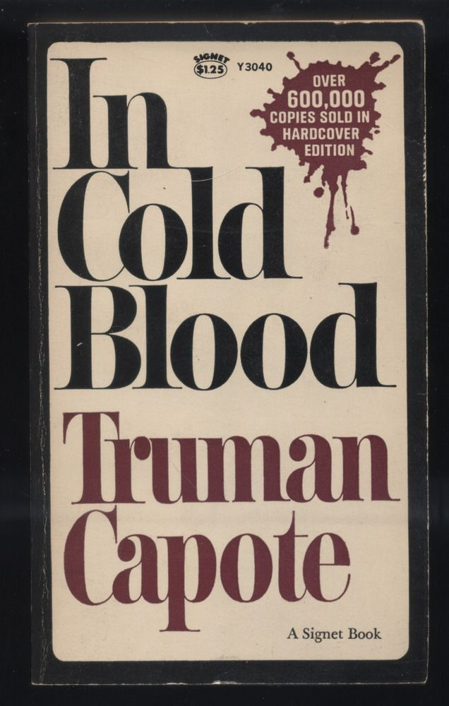 Analytical Essay Thesis In Cold Blood By Truman Capote Paperback Rd Printing Vintage True Crime Examples Of An Essay Paper also English Essay Topics In Cold Blood By Truman Capote Paperback Rd Printing Vintage True  Macbeth Essay Thesis