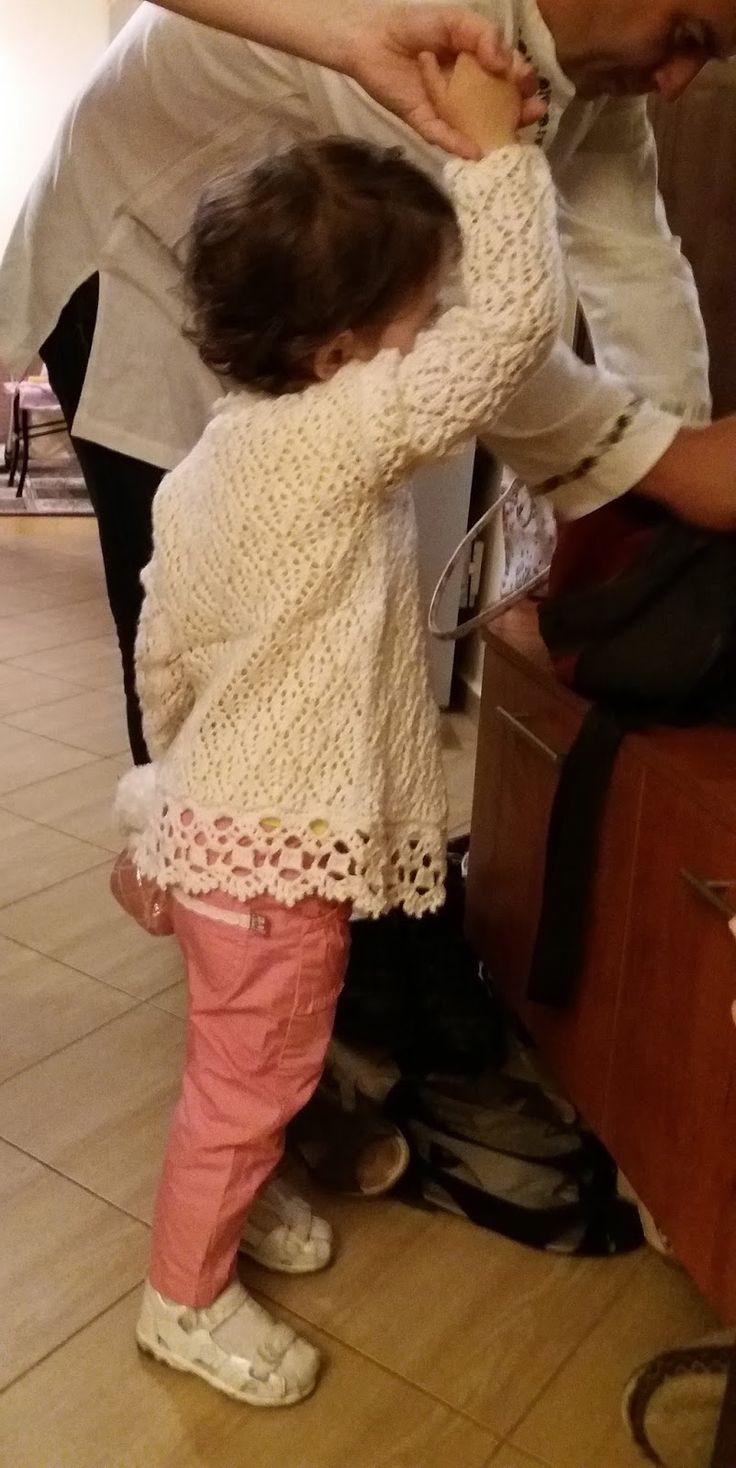 Cardigan for little girls