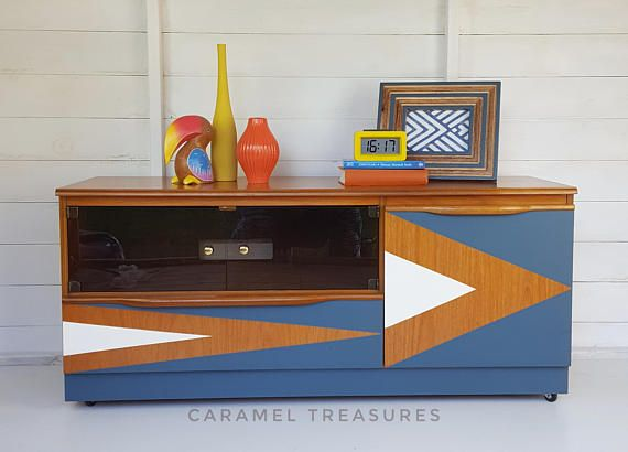 Check out this item in my Etsy shop https://www.etsy.com/listing/562776973/mid-century-modern-tv-unit-upcycled-mcm