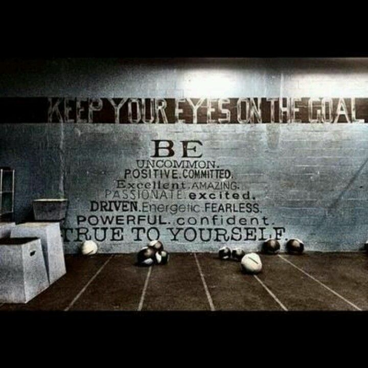 CrossFit Motivation Totally Would Love To Paint This On The Wall At My Gym