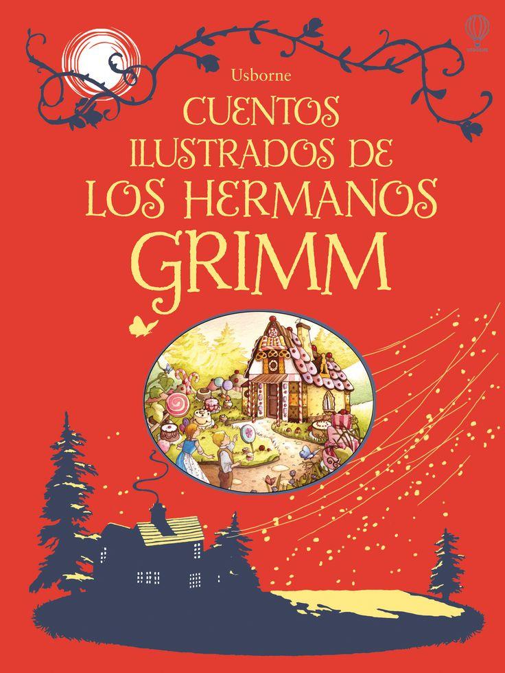 Una colección ilustrada de quince cuentos de los hermanos Grimm, adaptados para un público joven.  #libros #libro #librosinfantiles #cuentos #historias #niños #paraniños #relatos #cuentosdehadas #hermanosgrimm