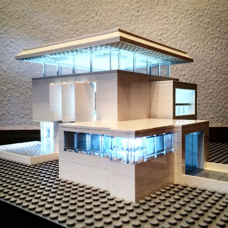 Arndt Schlaudraff recreates Brutalist buildings from Lego for Instagram
