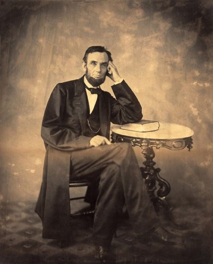 On Sunday, August 9, 1863, President Abraham Lincoln, along with his secretary John Hay, visited photographer Alexander Gardner's new Washington, D.C. studio at 7th and D Street. It was there that Lincoln, who according to Hay was in good spirits, sat for Gardner for the fourth time, producing a number of new likenesses. Nine days after his sitting, Mr. Gardner received a letter signed by the president. (Follow link to read letter.)