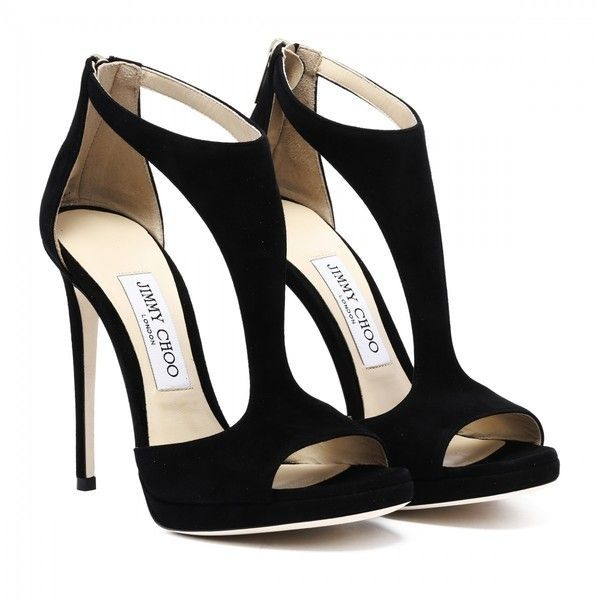 Lana Black Suede Sandals (6.560 ARS) ❤ liked on Polyvore featuring shoes, sandals, heels, suede leather shoes, kohl shoes, black suede shoes, black heeled sandals and high heel shoes
