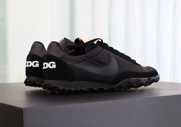 #sneakers #news  COMME des Garçons BLACK Revives One Of Its Oldest Nike Collaborations With The Waffle Racer
