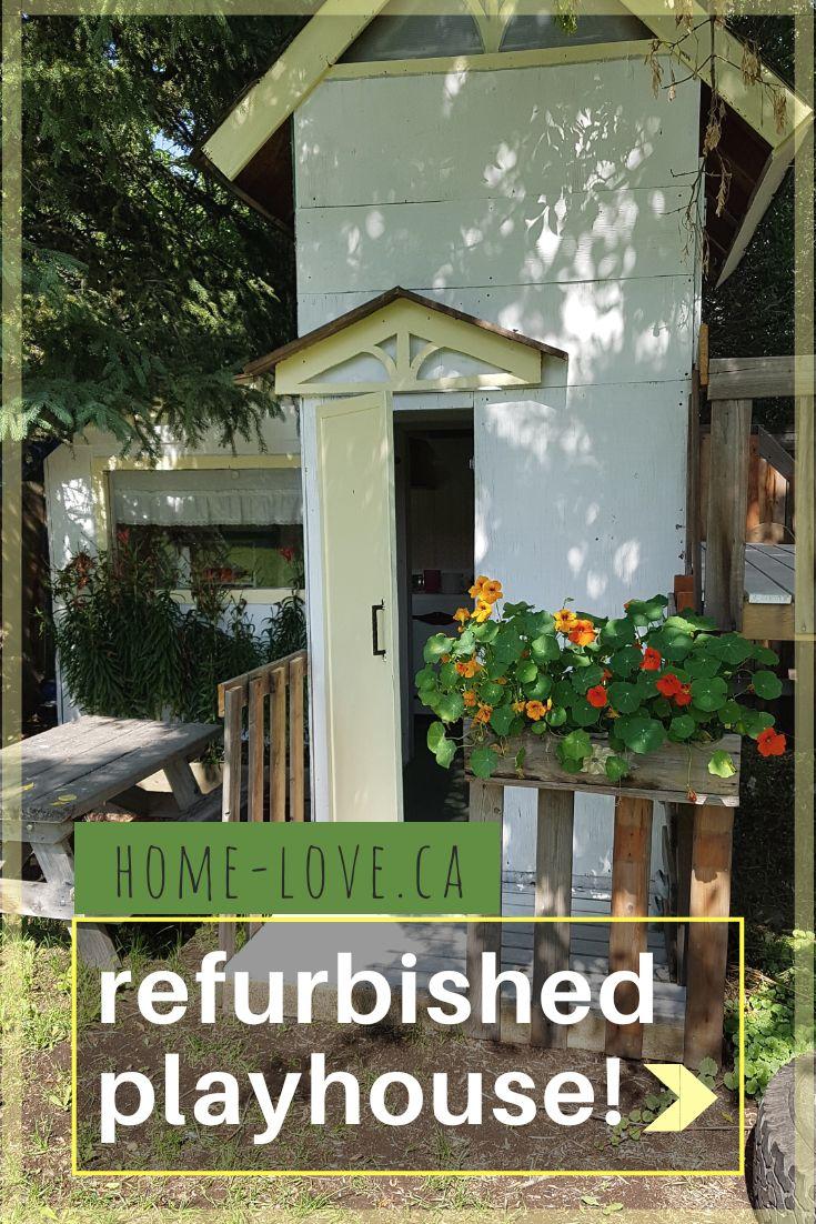 Major Playhouse Upgrade - Home Love