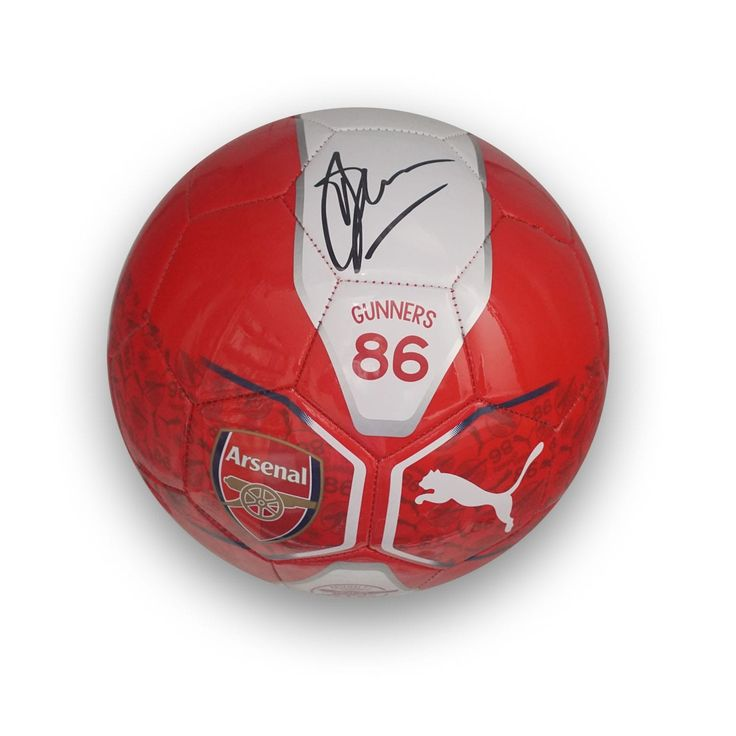 Dennis Bergkamp Signed Arsenal Football. £74.99 at exclusivememorabilia.com.