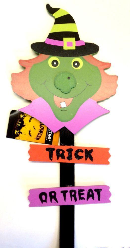Premier Halloween Garden Stake Witch