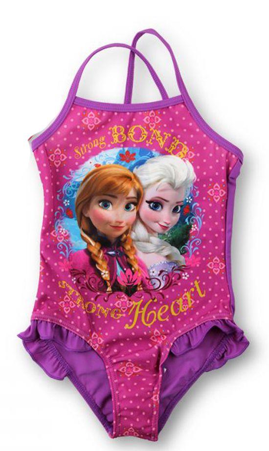 BabyTreasure- Μαγιό παιδικό ολόσωμο Frozen Disney - Frozen - 13,00€