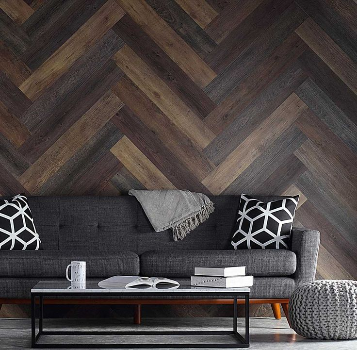 Pallet Wood Wall Planks Wallpaper