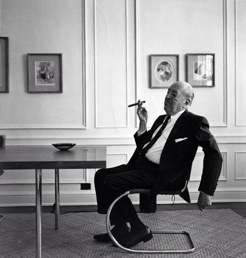 Mies van der #Rohe is too #cool.
