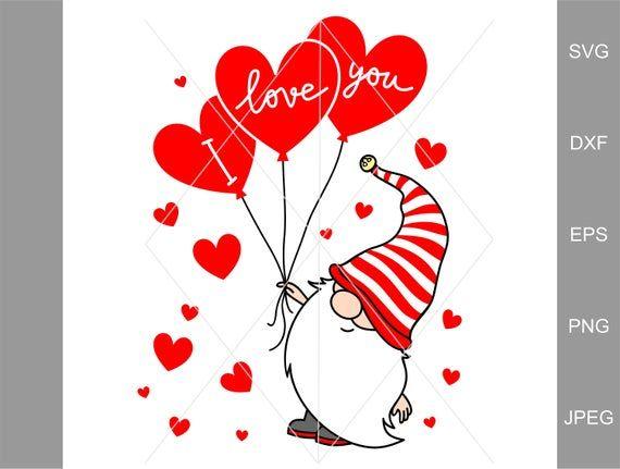 Download Valentine Svg i love you svg, Clipart Gnomes Hearts Svg ...