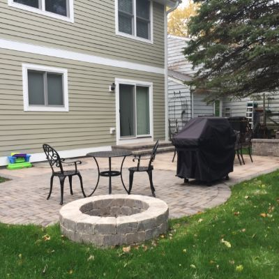 Delightful Belgard Patio With Fire Pit By Lake Bluff, IL Patio Builder   Design Ideas    Archadeck