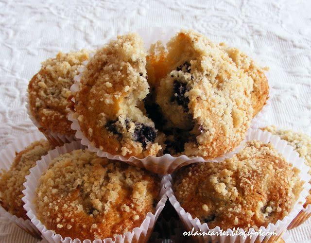 muffin de amora