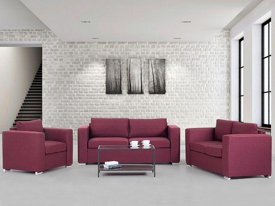 Wonderful red sofa- available in 6 colours https://www.beliani.ch/wohnzimmer-moebel/stoffsofa/sitzgruppe-burgunderrot-3-sitzer-2-sitzer-sessel-stoffsofas-helsinki.html