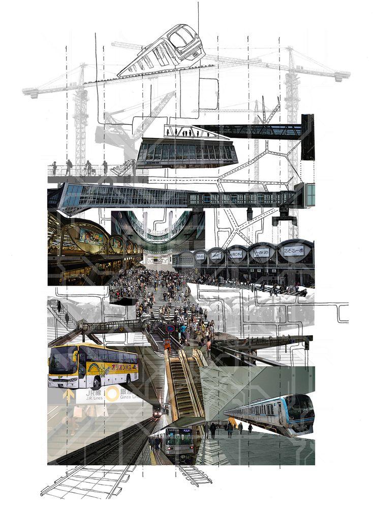 #circulation #montage #shibuya #layers