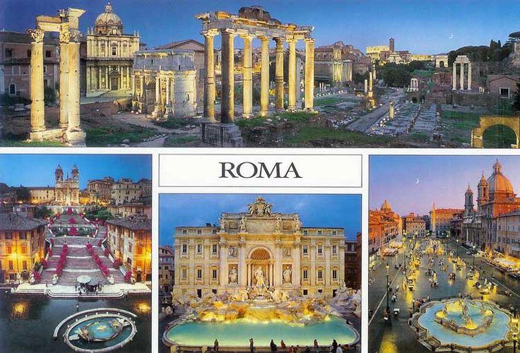 Disfruta de una de las ciudades más bellas. Viaja con nosotros a ROMA.