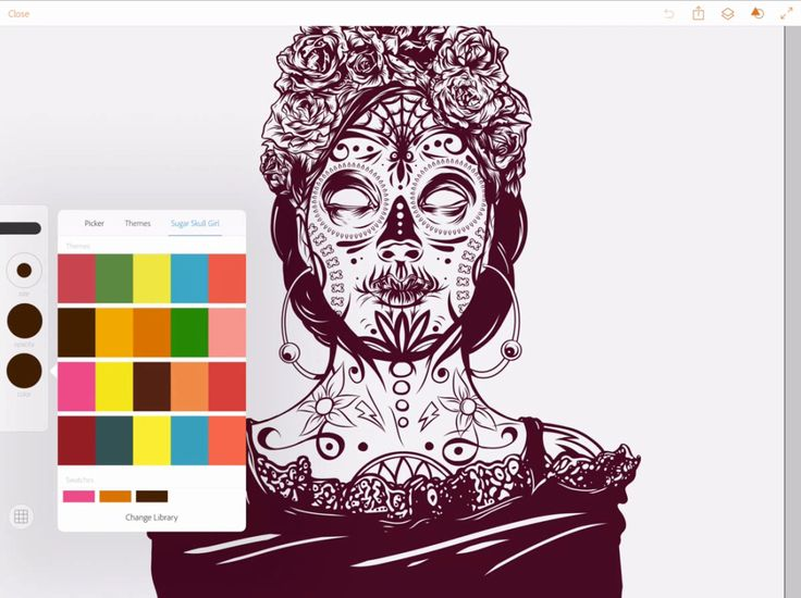 Great Tutorial On Using Adobe IPad Drawing Apps Scroll To Bottom Of Page For Step
