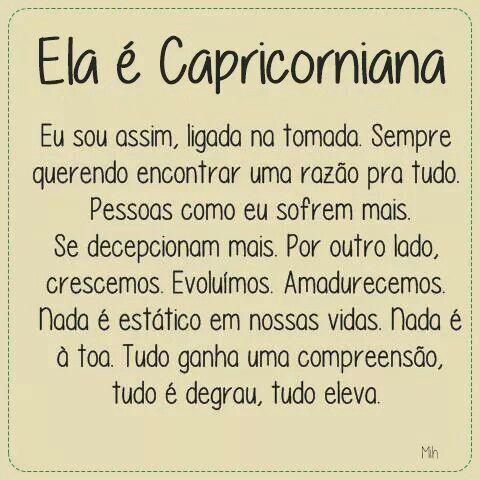 #soucapricorniana #soudessas #tãoEu