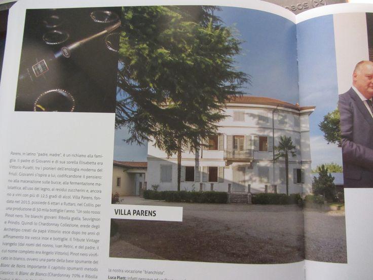 #VilaParens e #RistAlPonte fra i protagonisti dell'enogastronomia del #FriuliVeneziaGiulia nel libro di Walter Filiputti http://bit.ly/2kg6ih