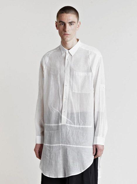 Raf Simons Men's SS08 Extended Shirt