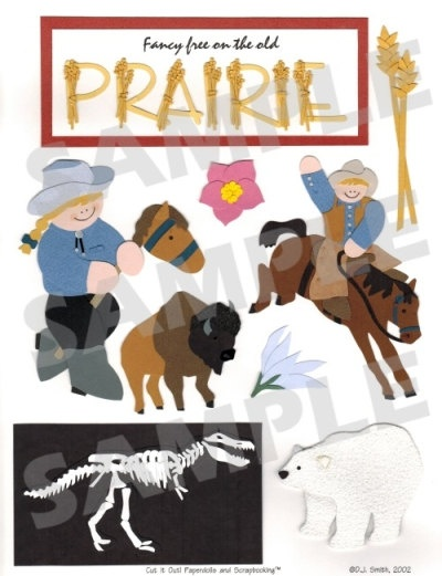 Prairies Scrapbook Embellishment. $1.25, via Etsy.