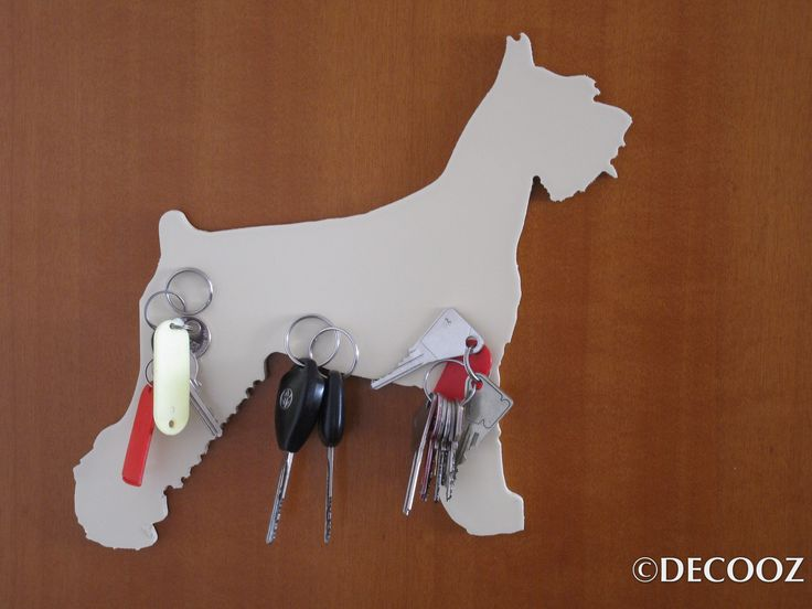 THE ULTIMATE GIFT!  CHOOSE YOUR FAVOURITE GIANT SCHNAUZER SILHOUETTE and HAVE FLOAT YOUR OBJECTS OF THE DAILY ON YOUR DECORATIVE MAGNET !   DECORATIVE AND USEFUL MAGNET including three POWERFUL magnets able to support metal objects (keys, leash, badge, pen, scissors ...) or non metal ones (cap, glasses...). View the photos