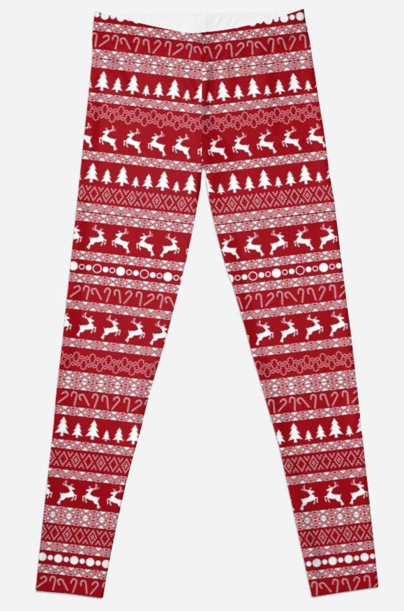 """Christmas pattern"" Leggings by Stock Image Folio | Redbubble"