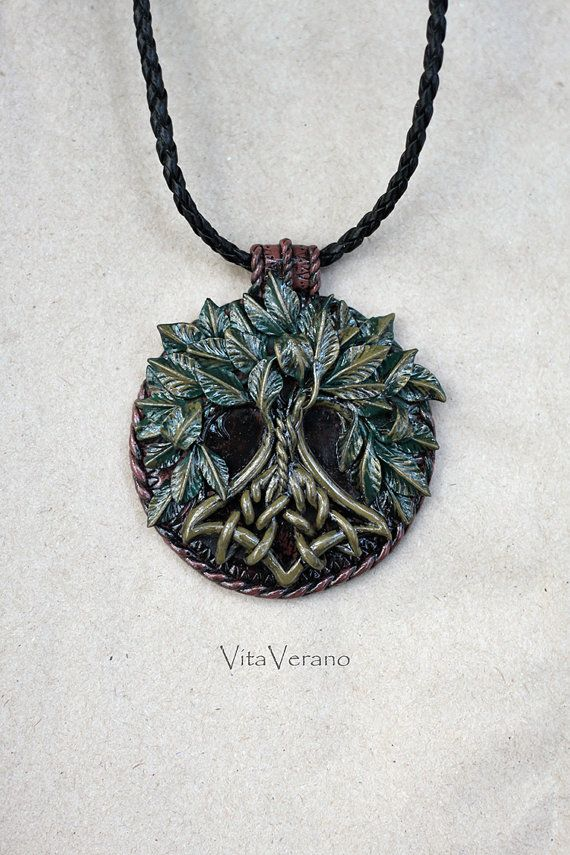 Yggdrasil jewelry Tree Of Life necklace Yggdrasil by VitaVerano