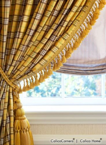 pinch pleated drapery in yellow find this pin and more on window treatments by