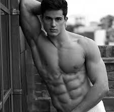Pietro Boselli, an italian boy; he is a model, wow; he lives in London, amusing; he teaches math at university, incredible!