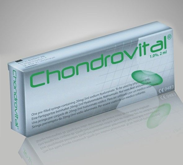 Solutie vascoelastica intraarticulara Chondrovital