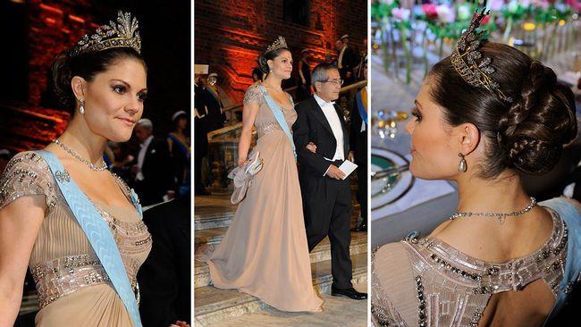 Kronprinsessan Victoria, Nobel 2010.